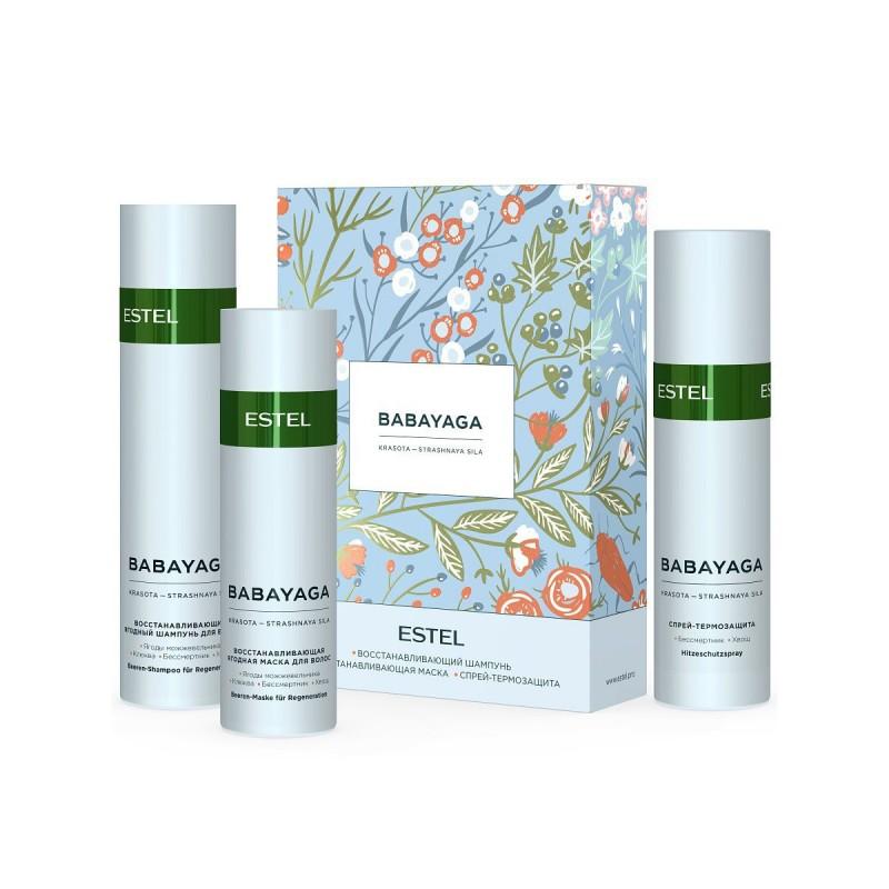 Estel  Косметический набор BABAYAGA для восстановления волос, 250+200+200 мл