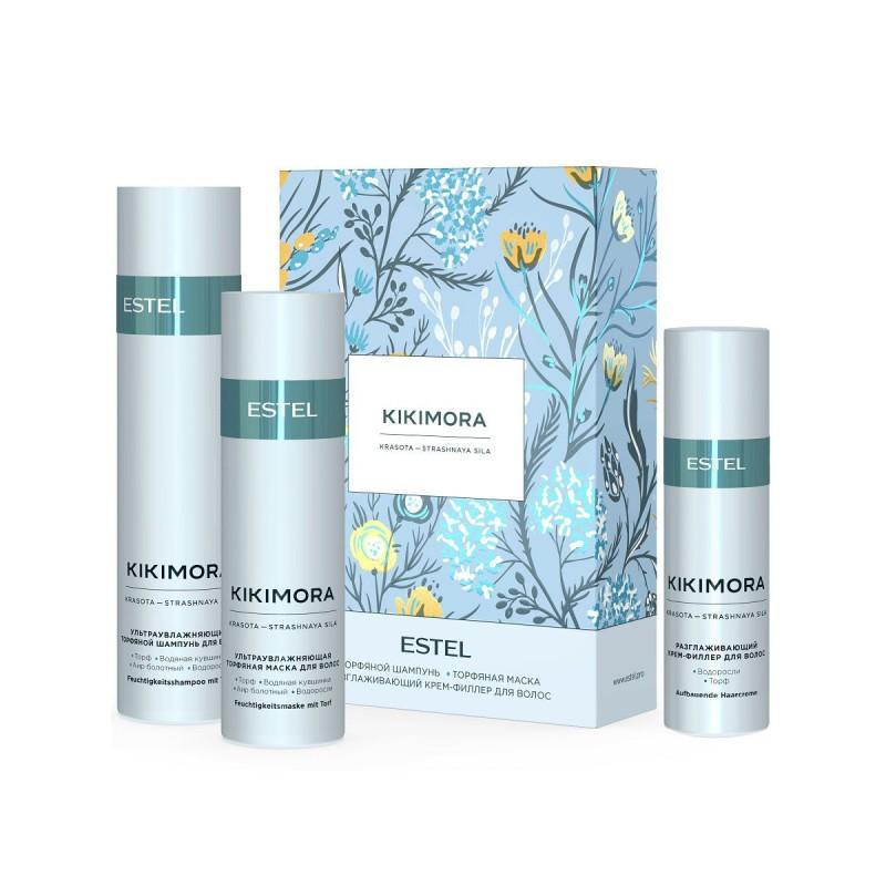 Estel Косметический набор KIKIMORA для увлажнения волос, 250+200+100 мл