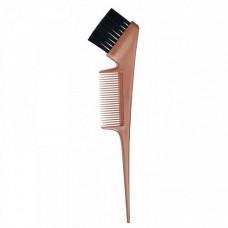 Kapous Кисть с расческой для окрашивания волос бронзовая
