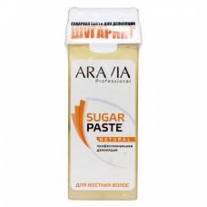 Aravia prof Сахарная паста для депиляции в картридже натуральная мягкой консистенции 150 г.