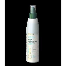 """Estel Curex Therapy Двухфазный лосьон-спрей """"Vita-терапия"""" для повреждённых волос 200 мл"""