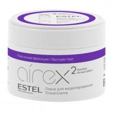 Estel AIREX Глина для моделирования волос с матовым эффектом пластичная фиксация 65 мл