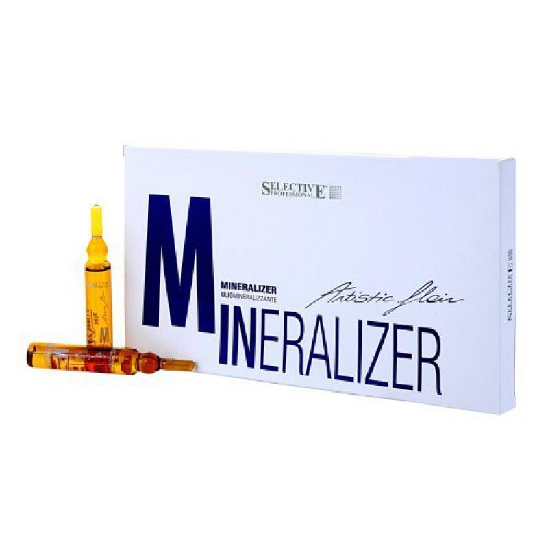 Artistic Flair Olio Miniralizer Реструктурирующий лосьон для волос 10х12 мл