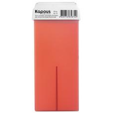 Kapous Жирорастворимый воск c ароматом Апельсина картридж 100 мл широкий ролик